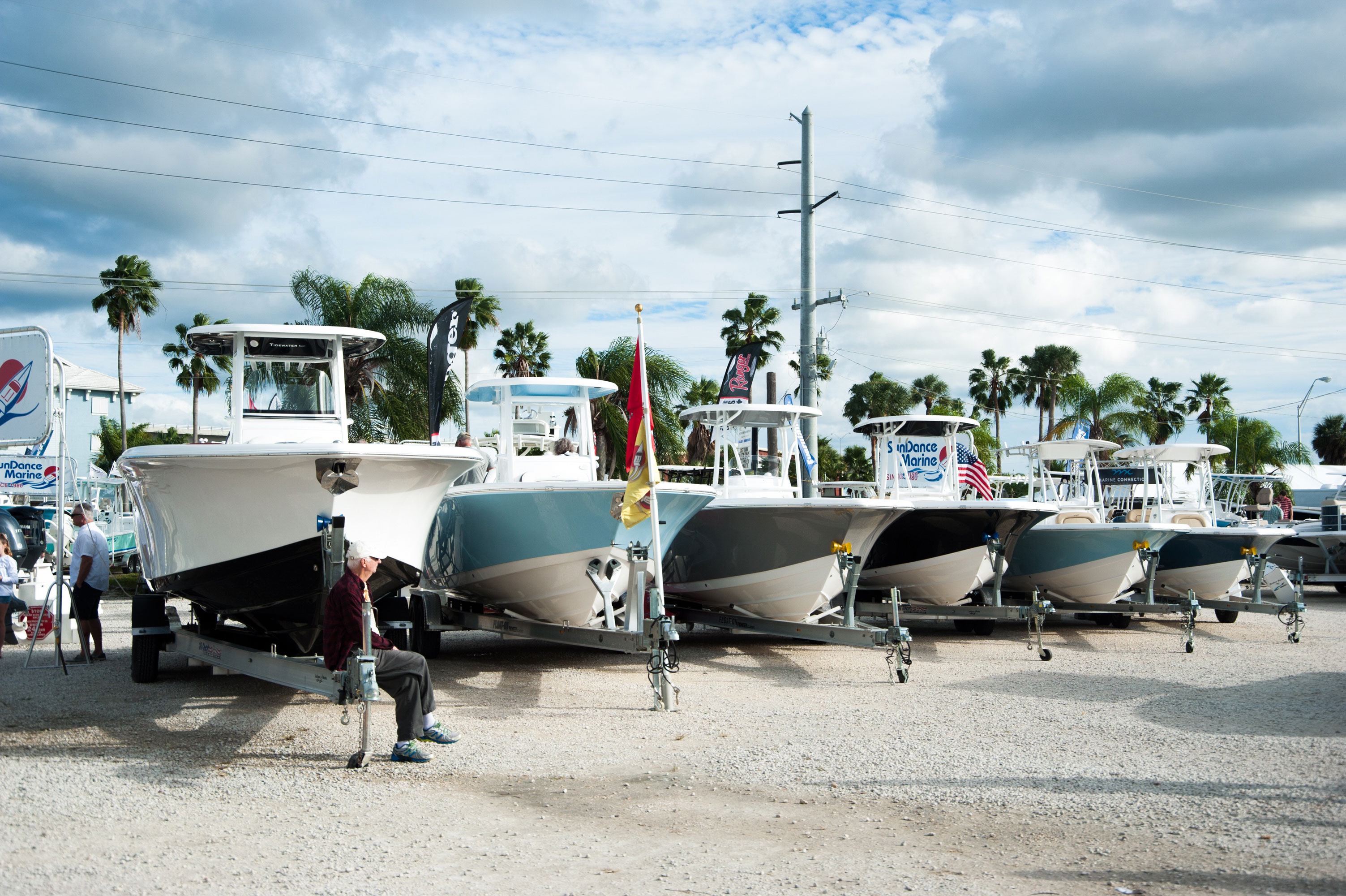 Stuart Boat Show - Boats on Land - Allsports Productions