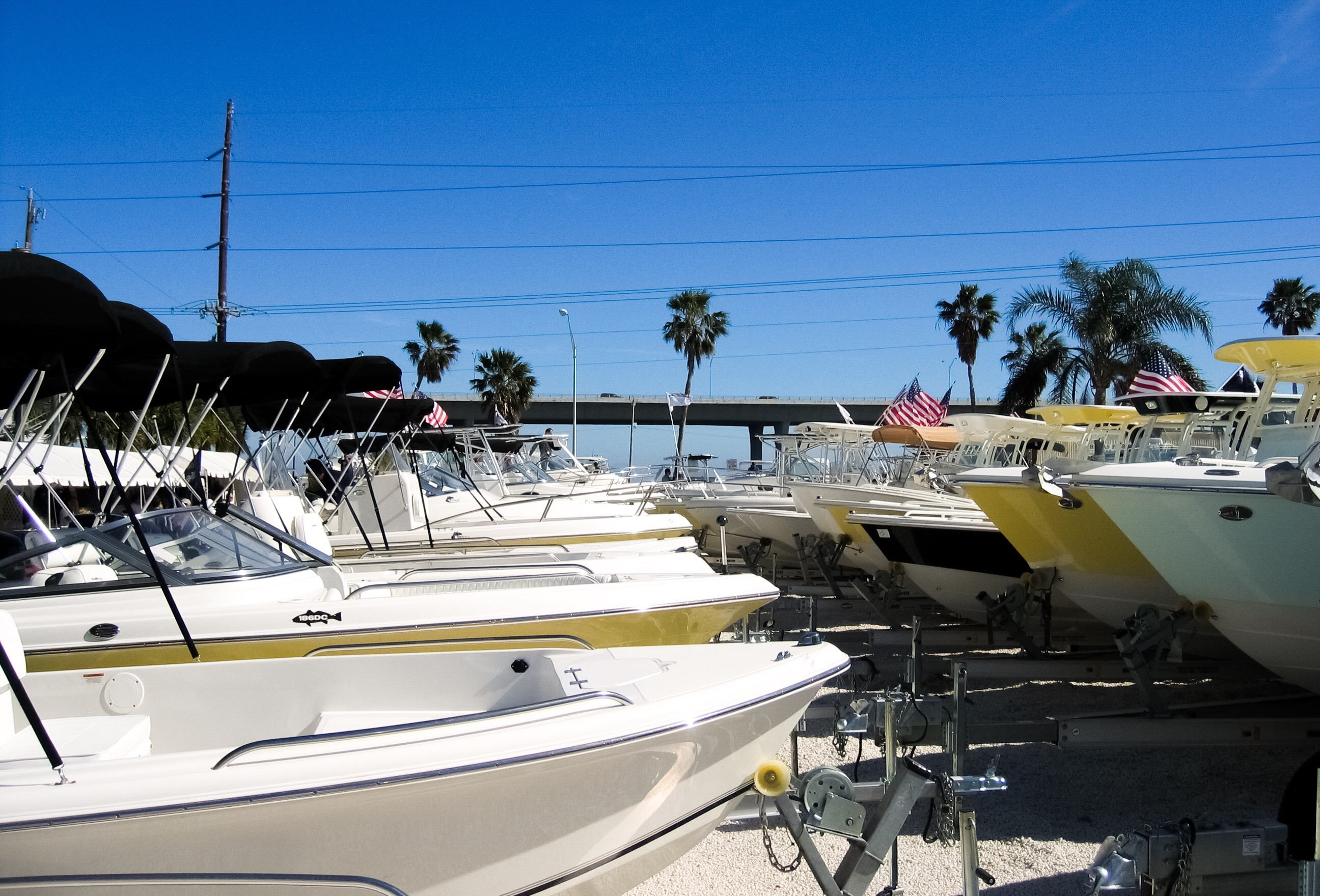 Stuart Boat Show - Small Boats on Trailers - Allsports Productions