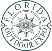 Florida Outdoor Expo Transparent Logo in Dark Sage - Allsports Productions
